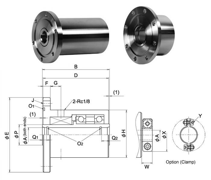 Cantilever Series F1T-***-C***